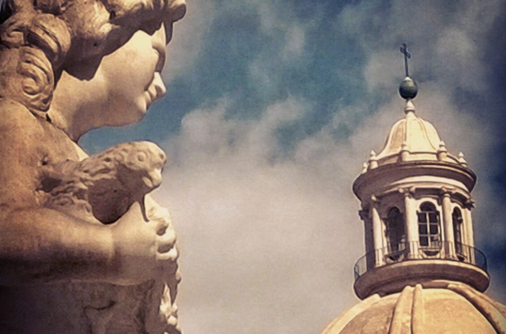 How much history in this part of Catania!