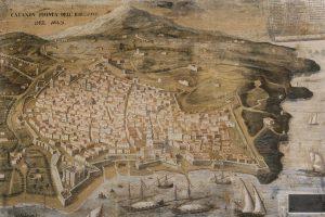 Catania prima dell'eruzione del 1669