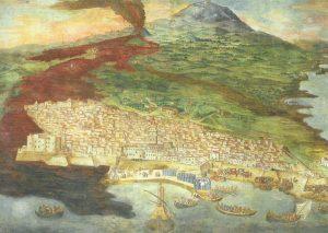 Catania dopo l'eruzione del 1669