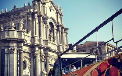 Il centro storico di Catania